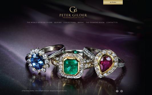 A screenshot of Peter Gilder