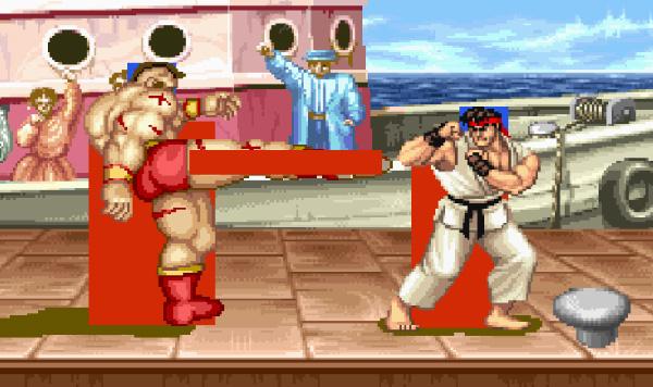 Screenshot of Street Fighter 2